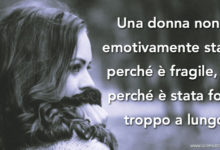 Photo of 6 motivi per cui una donna è emotivamente stanca