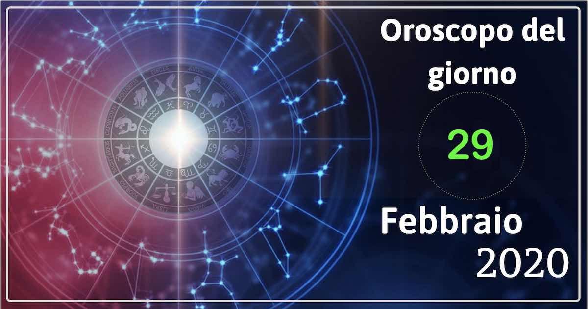 oroscopo 29 febbraio